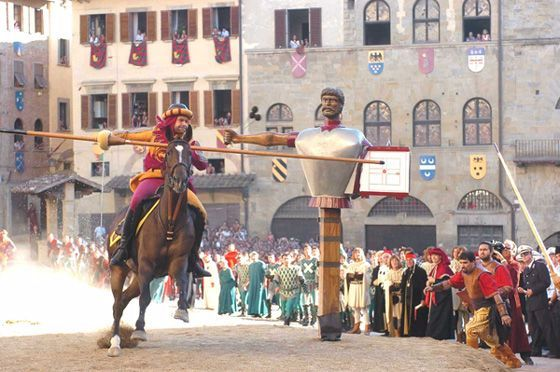 Joust of the Saracen (Giostra del Saracino)